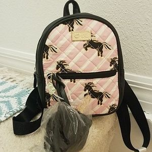 Betsey Johnson Kitsch Unicorn Mini Backpack P